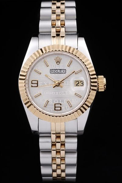 Unisex Rolex Datejust 31MM Date Window Two-tone Steel Bracelet Trendy Watch 2019 US