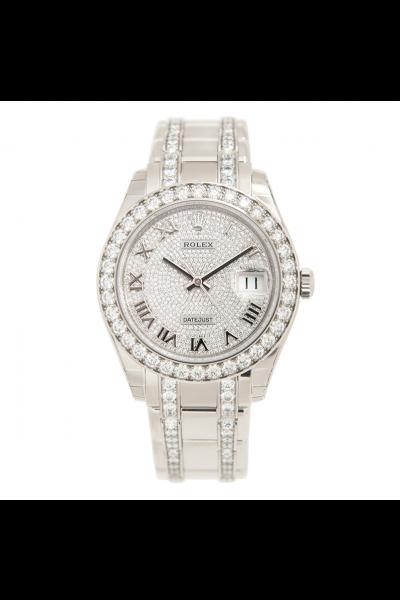 Women's Popular Rolex Datejust 39MM Diamonds Dial/Bezel/Bracelet  StainlessSteel Date Watch Online