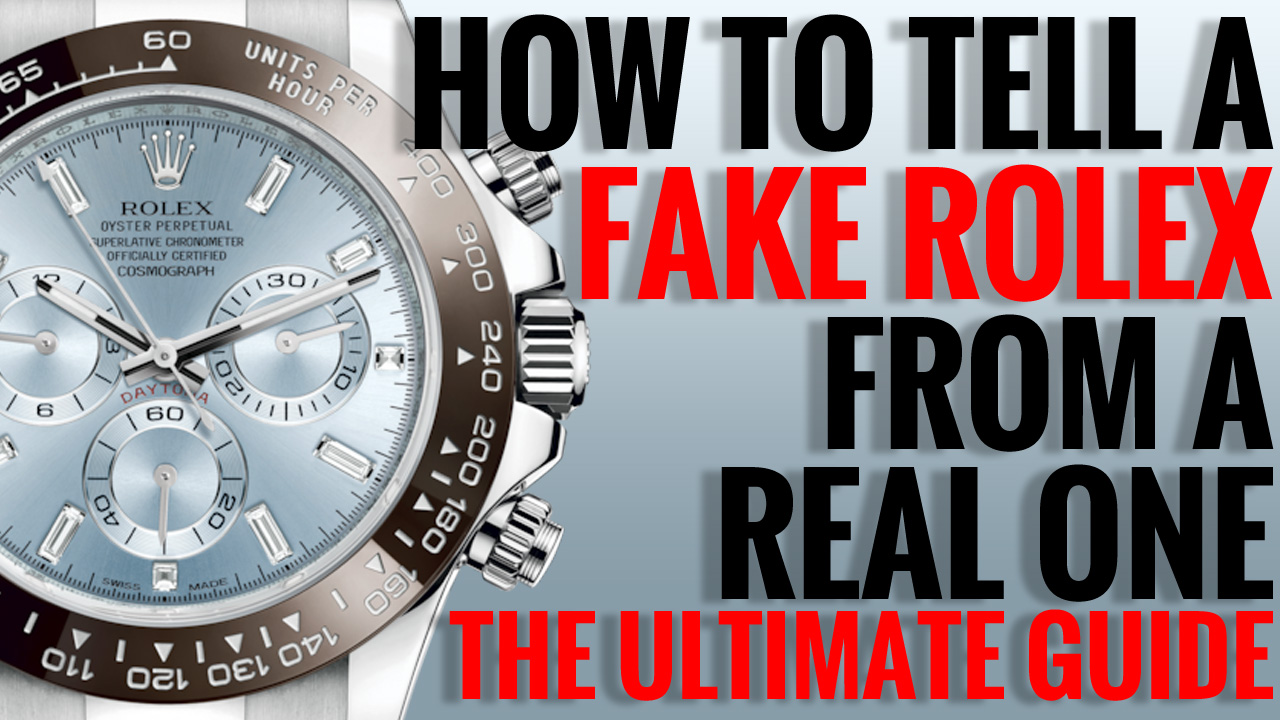 How to check the authenticity of a Rolex Watch